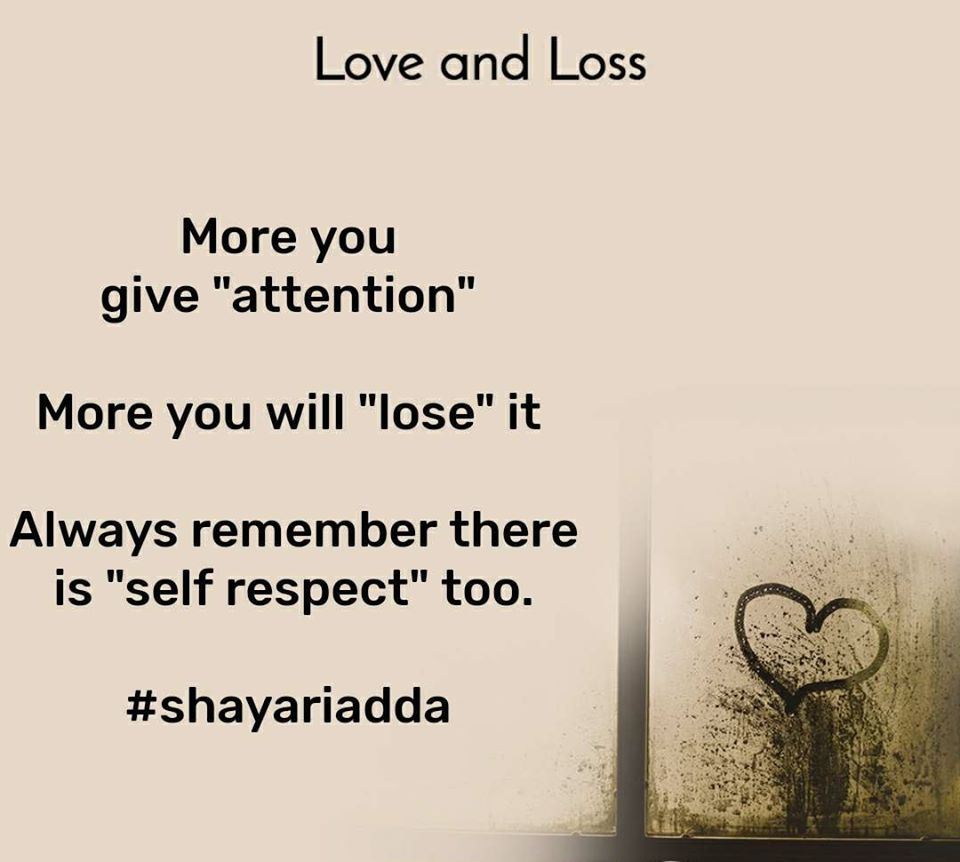 More You Give attention More you will lose | Zindagi Quotes 1
