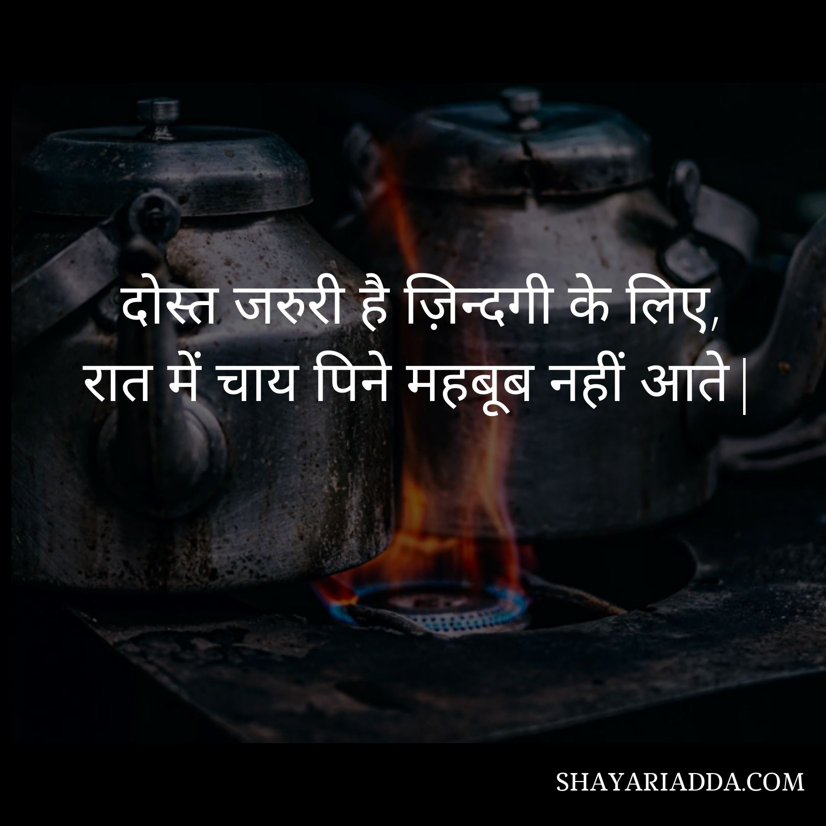 Chai Shayari for Chai Lover